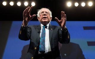 Ο Δημοκρατικός γερουσιαστής Μπέρνι Σάντερς προηγείται σε επίπεδο συγκέντρωσης χρημάτων ενόψει των εκλογών του 2020.