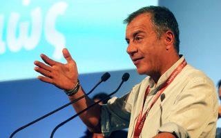 Ο επικεφαλής του Ποταμιού Στ. Θεοδωράκης ξεκινάει σήμερα την περιοδεία του με πρώτο σταθμό το Ναύπλιο.