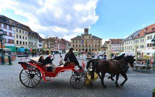 Μarktplatz, η πλατεία της Αγοράς. (Φωτογραφία: AFP/VISUALHELLAS.GR)