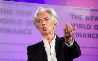 Η επικεφαλής του ΔΝΤ Κριστίν Λαγκάρντ τόνισε ότι το πρόβλημα είναι ιδιαιτέρως έντονο στην ψηφιακή οικονομία. «Δεν λέω πως αντιμετωπίζουμε προς το παρόν πρόβλημα μονοπωλίου. Λέω, όμως, πως θα πρέπει να λάβουμε τα κατάλληλα μέτρα ώστε να μην εξελιχθεί σε πρόβλημα», σημείωσε η κ. Λαγκάρντ.