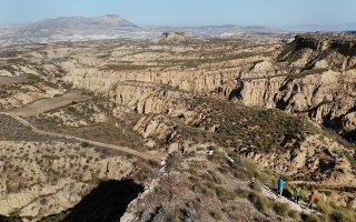 Η έρημος της Ισπανίας θα αποτελέσει μοντέλο για την αποκατάσταση του εδάφους.