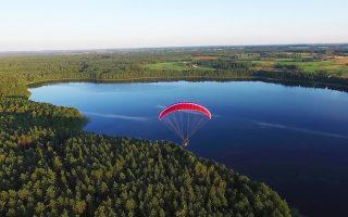 Η περιοχή των λιμνών της Μαζουρίας στην Πολωνία.
