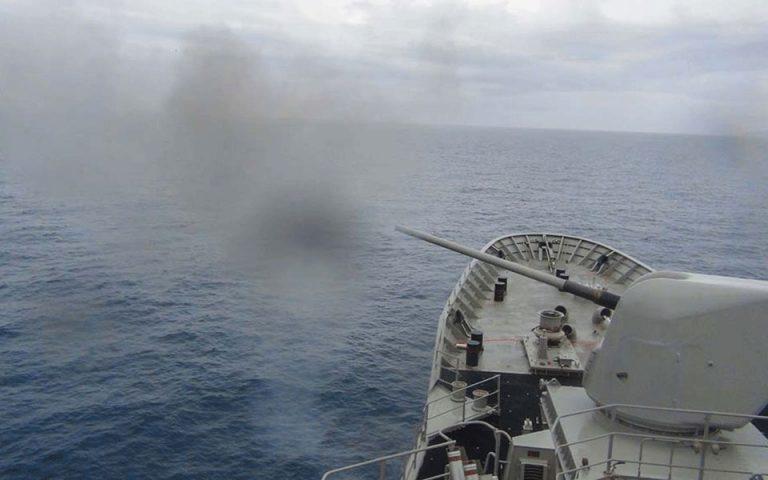 Με επιτυχία ολοκληρώθηκε άσκηση του Πολεμικού Ναυτικού στον Σαρωνικό και το Μυρτώο Πέλαγος (φωτογραφίες)