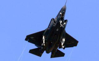 Αμερικανικό F-35 στην παρθενική πτήση του, στο Φορτ Γουόρθ του Τέξας.