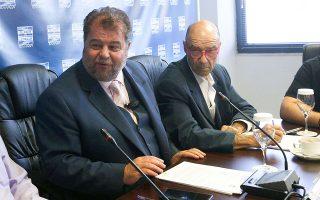 O Ευ. Μπαταγιάννης (αριστερά) επικαλέστηκε προσωπικούς λόγους και ο Χρ. Δάρας (δεξιά) αναμένεται να ενεργοποιήσει άμεσα τις διαδικασίες για την εκλογή νέου προέδρου.
