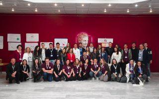 Στην Ημέρα Γνωριμίας, μετείχαν 32 μαθητές Γ΄Λυκείου και υποψήφιοι Πανελλαδικών Εξετάσεων από 24 λύκεια της Αττικής.