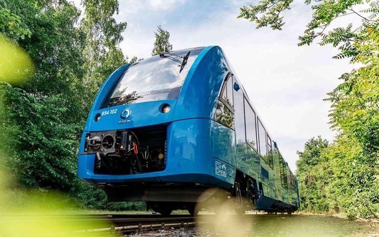 Το πρώτο τρένο με κυψέλες υδρογόνου