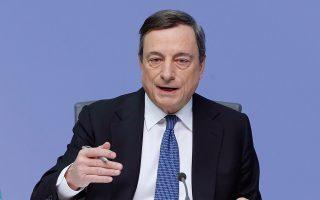 Οι πιθανότητες ύφεσης κατά το δεύτερο εξάμηνο παραμένουν περιορισμένες, σύμφωνα με τον Μάριο Ντράγκι.