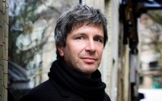 Ο Γάλλος συγγραφέας Ερίκ Βυϊγιάρ.