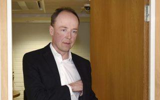 Ο επικεφαλής του κόμματος των Φινλανδών Γιούσι Χάλα-άχο.