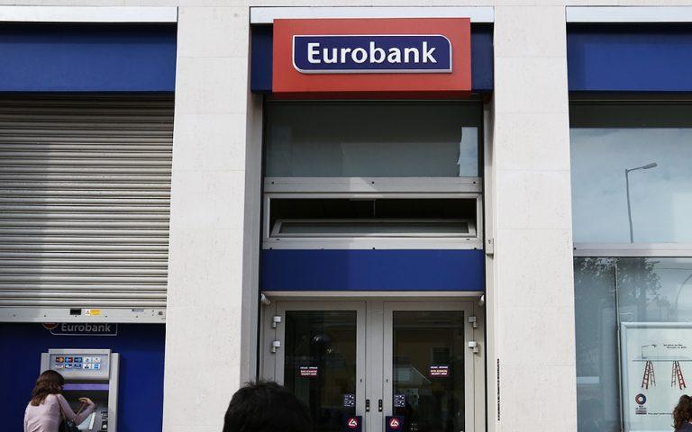 Επιστροφή της Eurobank στους βασικούς δείκτες της MSCI βλέπει η JP Morgan