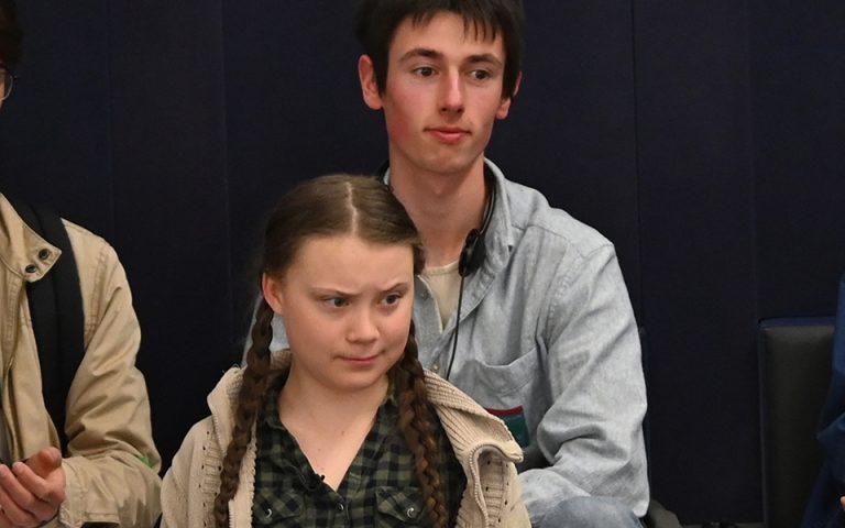Η 16χρονη Γκρέτα Τούνμπεργκ απέναντι στην Ευρωβουλή