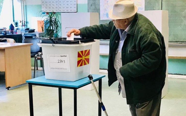 Στις κάλπες για την εκλογή προέδρου η Βόρεια Μακεδονία