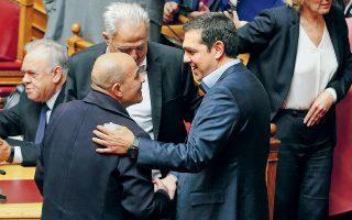 Ιδού, για όλους εσάς που ανησυχούσατε! Ο Γιάννης ο Μιχελογιαννάκης υπάρχει ακόμη και, όπως φαίνεται από τη φωτογραφία, ακόμη ανήκει στον ΣΥΡΙΖΑ...