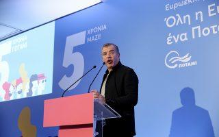 Ο κ. Θεοδωράκης εξακολουθεί να αφήνει ανοιχτά «παράθυρα» για συμμαχίες μετά τις εθνικές εκλογές, όχι όμως άνευ όρων.