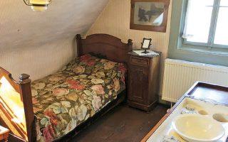 Το υπνοδωμάτιο του Γιοχάνες Μπραμς στο Λίχτενταλ, που σήμερα είναι προάστιο του Μπάντεν-Μπάντεν. Εκεί ο μουσουργός έζησε από το 1864 έως το 1876 και συνέθεσε μερικά από τα σπουδαιότερα έργα του.