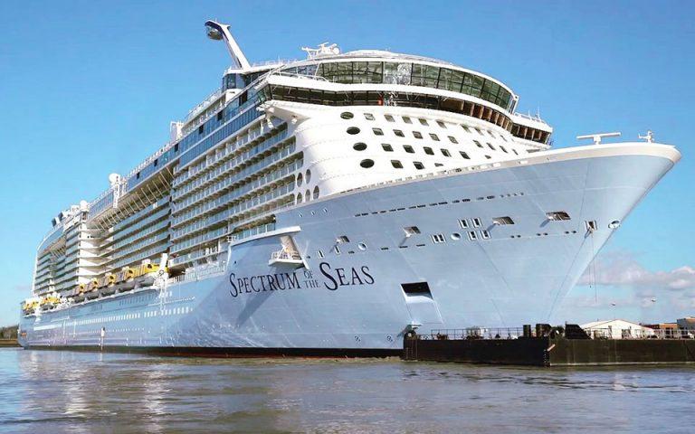 Στον Πειραιά το μεγαλύτερο κρουαζιερόπλοιο του κόσμου (βίντεο)
