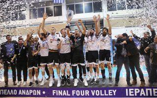 Ο ΠΑΟΚ κατέκτησε το Κύπελλο Ελλάδας και σήμερα θα αντιμετωπίσει την Κηφισιά στον δρόμο προς τους τελικούς της Α1.
