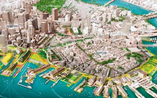 Το σχέδιο της Βοστώνης για να προστατεύσει το δικό της παραθαλάσσιο μέτωπο απέναντι στην κλιματική αλλαγή.