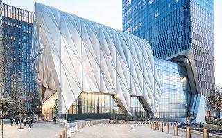 «The Shed», το νέο πολιτιστικό κέντρο της Νέας Υόρκης, που θα φιλοξενεί εκθέσεις, συναυλίες, θεατρικές και χορευτικές παραστάσεις.