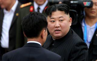 Ο ηγέτης της Βόρειας Κορέας, Κιμ Γιονγκ Ουν, θα ταξιδέψει με το ιδιωτικό του τρένο.