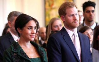 Ο πρίγκιπας Χάρι και η σύζυγός του Μέγκαν Μαρκλ, δούκισσα του Σάσεξ, περιμένουν το πρώτο τους παιδί.