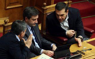 Σε συνάντηση που θα έχει ο πρωθυπουργός Αλέξης Τσίπρας με τον υπουργό Οικονομικών Ευκλείδη Τσακαλώτο και τον αναπληρωτή υπουργό Γιώργο Χουλιαράκη θα οριστικοποιηθούν τα επόμενα βήματα της κυβέρνησης.