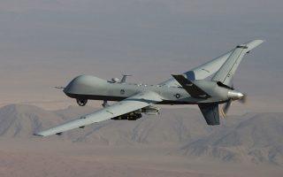 Tα δύο μη επανδρωμένα αεροσκάφη (UAV) MQ-9 Reaper των ΗΠΑ, που σταθμεύουν στην αεροπορική βάση της Λάρισας, θέλει να εκμισθώσει η Ελλάδα.