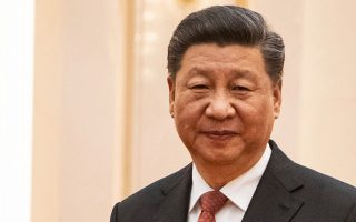 O πρόεδρος της Κίνας, Σι Τζινπίνγκ.