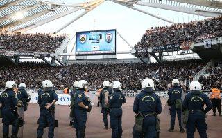 ΕΛ.ΑΣ. και διοίκηση του ΟΑΚΑ συναντήθηκαν για να μελετήσουν τα του τελικού Κυπέλλου, αφού άνευ εκπλήξεως ΠΑΟΚ και ΑΕΚ θα συναντηθούν για τρίτη χρονιά στο τελευταίο ραντεβού της διοργάνωσης.