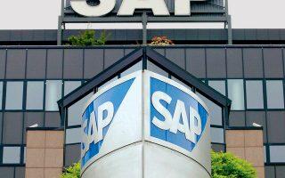 Η μετοχή της γερμανικής εταιρείας τεχνολογίας SAP εμφάνισε κέρδη 12,6%, οδηγώντας την σε κεφαλαιοποίηση άνω των 14 δισ. ευρώ.