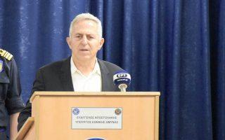 Ο υπουργός Εθνικής Αμυνας Ευάγγελος Αποστολάκης.