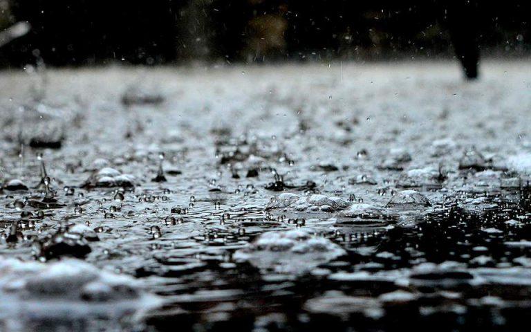 Σε εξέλιξη το κύμα κακοκαιρίας – Βροχές και καταιγίδες σε όλη τη χώρα