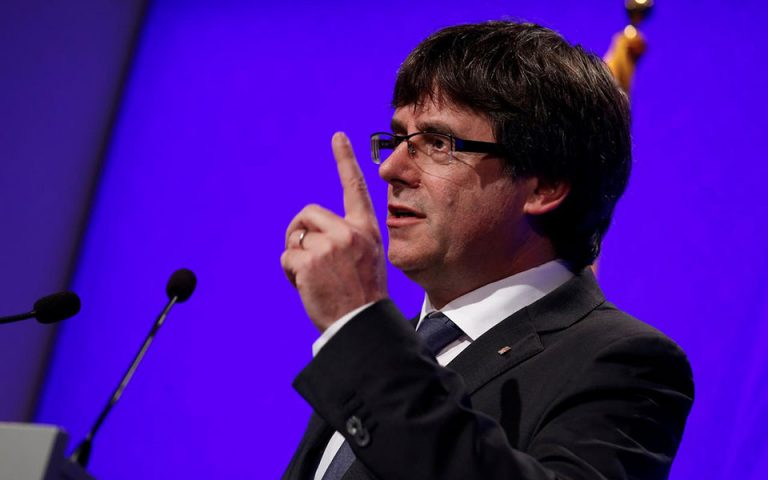 Απαγορεύει στον Πουτζδεμόν το κόμμα του να είναι υποψήφιος στις ευρωεκλογές