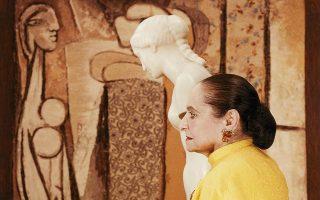 Η Χελένα Ρουμπινστάιν, περίφημη συλλέκτρια έργων τέχνης, εδώ σε ηλικία 83 ετών. © The Estate of Erwin Blumenfeld