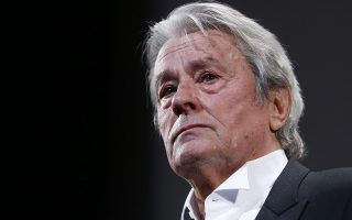 epa05007082 (FILE) A file picture dated 25 May 2013 shows French actor Alain Delon during the 66th annual Cannes Film Festival, in Cannes, France. Delon will turn 80 on 08 November 2015.  EPA/GUILLAUME HORCAJUELO