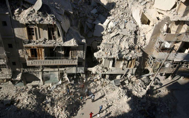 Δύο νεκροί και επτά τραυματίες από πυρά όλμου στο Χαλέπι στη Συρία