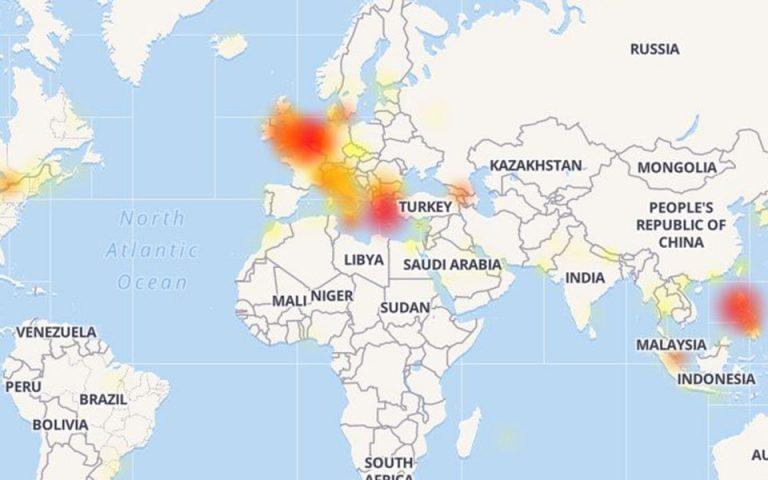 Αποκαθίσταται σταδιακά η λειτουργία Facebook και Instagram – Σε Μ. Βρετανία και Ελλάδα τα μεγαλύτερα προβλήματα