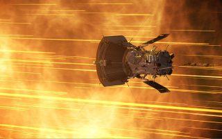 Η δεύτερη κοντινή διέλευση από τον Ηλιο του αμερικανικού σκάφους Parker Solar Probe 3 (Πηγή φωτογραφίας: NASA)