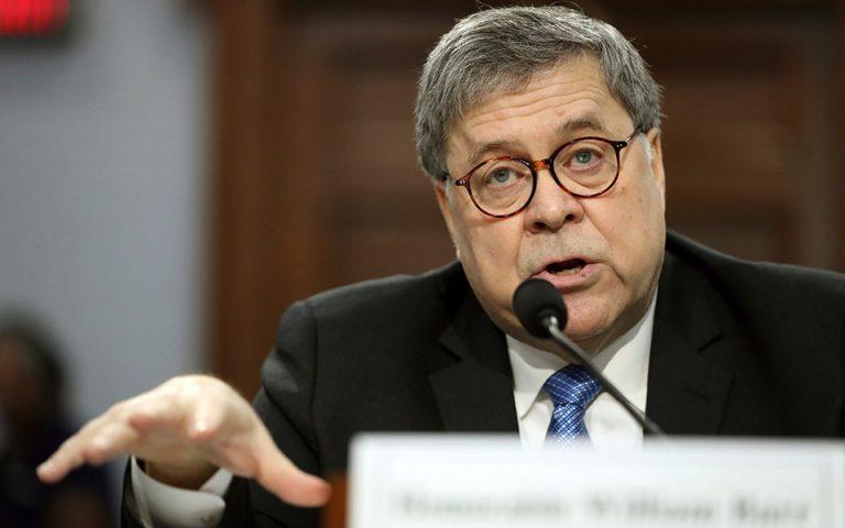 Αμερικανός υπουργός Δικαιοσύνης: Εντός μίας εβδομάδας η δημοσιοποίηση της έκθεσης Μάλερ
