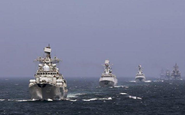 Ασκήσεις του ρωσικού ναυτικού στη Μαύρη Θάλασσα