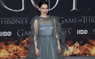 Emilia Clarke attends HBO's