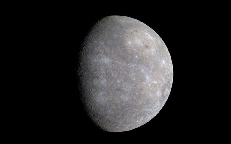 Στερεό μεταλλικό πυρήνα σχεδόν ίδιου μεγέθους με αυτόν της Γης έχει ο πλανήτης Ερμης