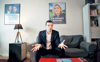 Ο Ζορντάν Μπαρντελά αναμένεται να εκλεγεί στο Ευρωκοινοβούλιο και να προωθήσει τις ευρωσκεπτικιστικές θέσεις του κόμματός του.