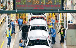 Σημαντικά κέρδη σημείωσαν οι μετοχές της αυτοκινητοβιομηχανίας μετά την αναστολή επιβολής δασμών στις εισαγωγές αυτοκινήτων από τις ΗΠΑ που ανακοίνωσε το Πεκίνο. Η μετοχή της Daimler έκλεισε χθες με άνοδο 4,33%.