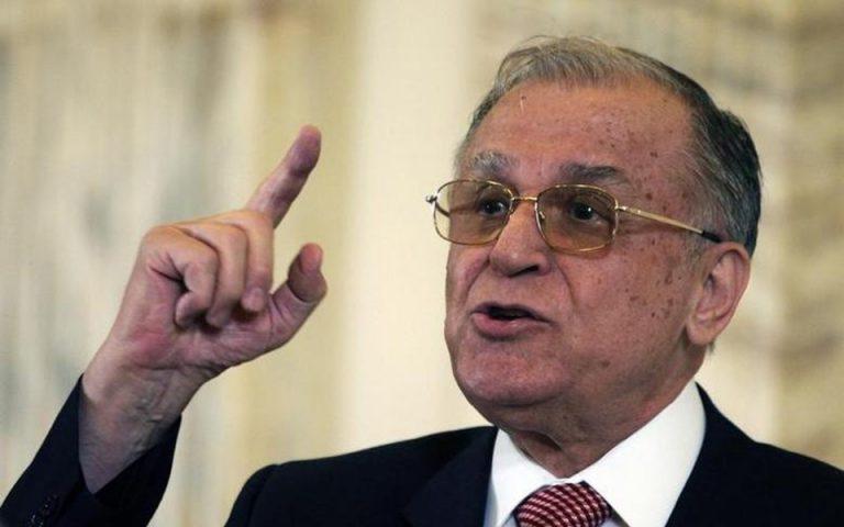 Σε δικη για «εγκλήματα κατά της ανθρωπότητας» μετα την πτώση Τσαουσέσκου ο πρώην πρόεδρος Ιλιέσκου