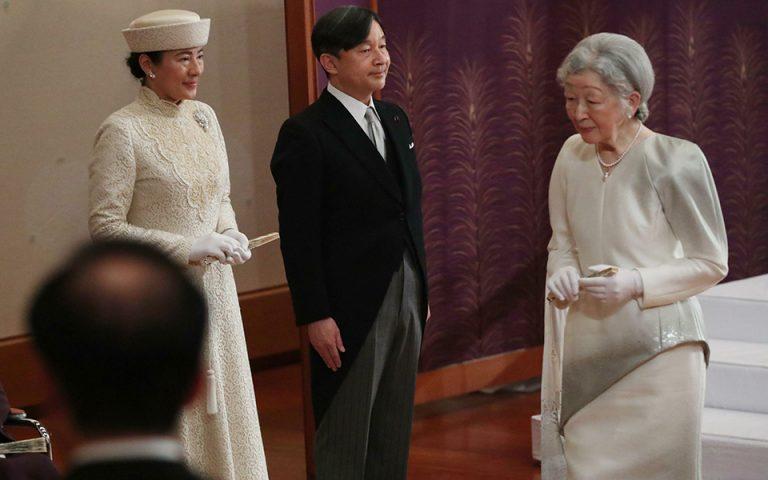 Ο Ναρουχίτο ανέλαβε 126ος αυτοκράτορας της Ιαπωνίας