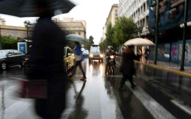 Καιρός: Νεφώσεις με βροχές τη Μεγάλη Τρίτη