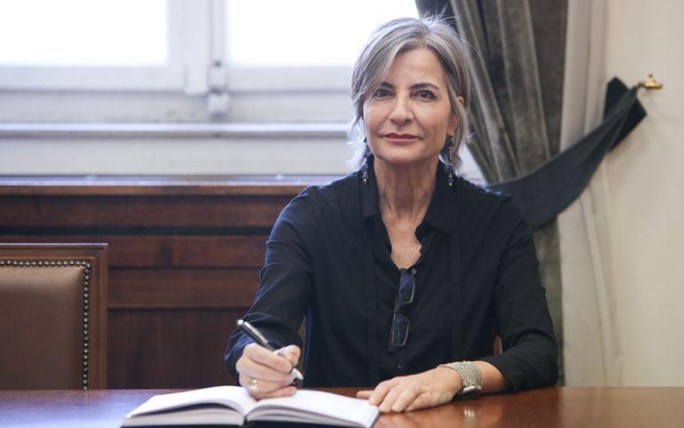 Ποτάμι: Ορκίστηκε βουλευτής η Αντιγόνη Λυμπεράκη