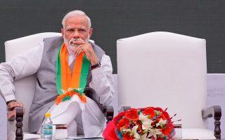 Πολλοί Ινδοί διαμαρτύρονται ότι ο πρωθυπουργός Ναρέντρα Μόντι και το κόμμα του έχουν δημιουργήσει μια «δηλητηριώδη ατμόσφαιρα».